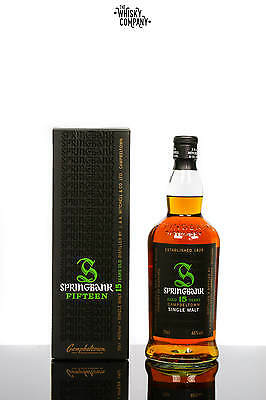 Springbank 15 Years Old Campbeltown Single Malt Scotch Whisky