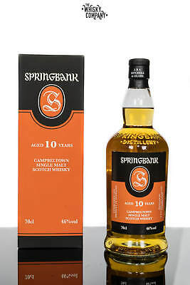 Springbank 10 Years Old Campbeltown Single Malt Scotch Whisky (700ml)