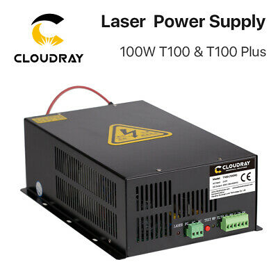 80W CO2 Laser Power Supply for CO2 Laser Engraving Cutting Machine AC 220V &100V