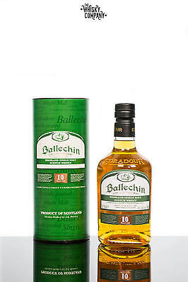 Ballechin Heavily Peated 10 Years Old Highland Single Malt Scotch Whisky