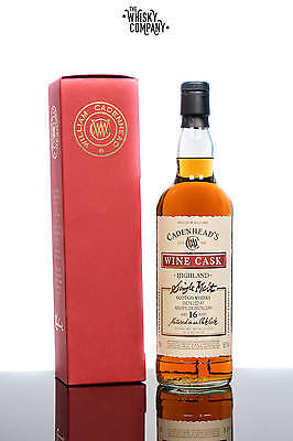 Cadenheads Aberfeldy Wine Cask Aged 16 Years Highland Single Malt Scotch Whisky
