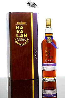 Kavalan Solist Moscatel Taiwanese Single Malt Whisky (750ml)