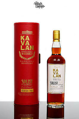 Kavalan Solist Ex-Sherry Taiwanese Single Malt Whisky (700ml)