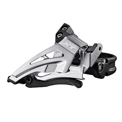 Shimano 8000 XT 11 Spd Triple Front Derailleur Band Type Front Pull Low Clamp