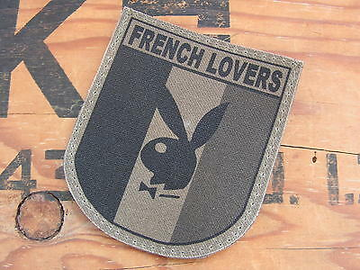 Snake Patch FRANCE OPEX  PUTOIS  french bashing PATRIOTE Humour SCRATCH Militaria