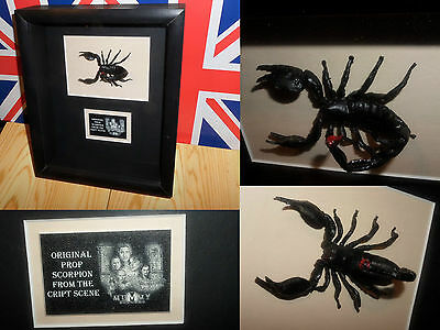 2001 THE MUMMY RETURNS Brendan Fraser ORIGINAL prop SCORPION Rachel Weisz L@@K