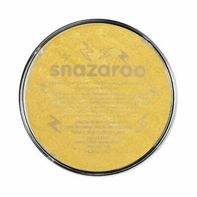 Snazaroo Metallic Silver or Gold Face & Body Paint Make Up Fancy Dress