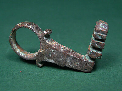 Ancient Bronze Key Roman 100-300 Ad