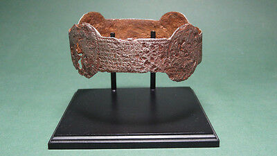 Ancient Arm Bracelet Inscribed Byzantine 400-600 Ad
