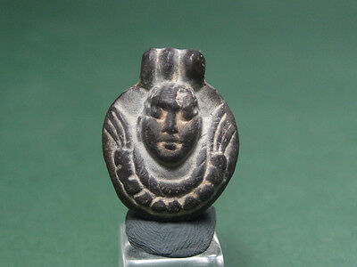 Ancient Eros Pendant god of love steatite Egyptian Late Period 716-30 BC