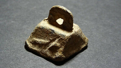 Ancient Lead Weight Pyramid Shape 1000 - 300 Bc