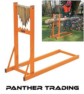 Draper Robust & Transportable Log Stand Use With Chain or Manual Saws - 32273