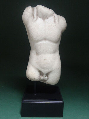 Ancient Torso Of Apollo  Greco-Roman 100 Bc-200 Ad
