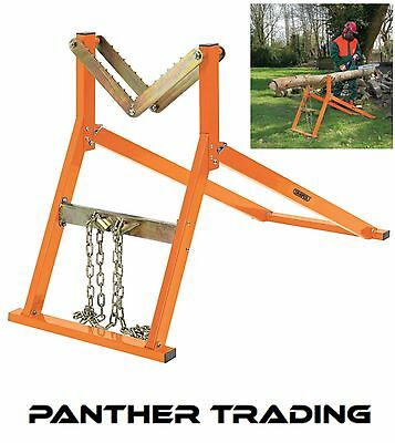 Draper Robust Durable Log Stand Saw Horse For Chainsaw & Manual Cutting -  32274