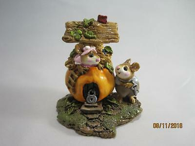 Wee Forest Folk M-190 Peter Pumpkin Eater - Retired in 1995 - WFF Box