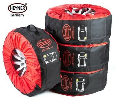 LARGE SIZE WHEEL TYRE STORAGE CARRY BAGS 14''-20'' 285mm width SET OF 4