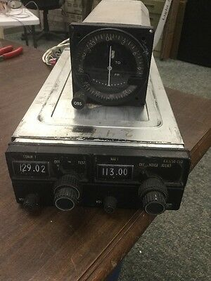 King KX175B With KI-201C Indicator 12 Volt With Rack