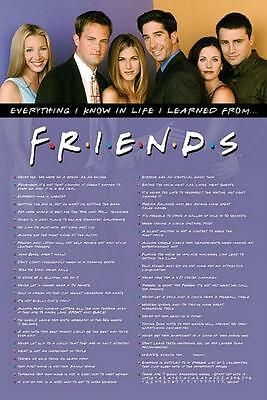 Friends : Everything I Know - Maxi Poster 61cm x 91.5cm new and sealed