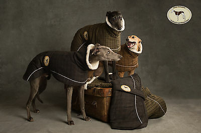 Tweed Coat for Greyhounds, Whippets, Lurchers, Salukis