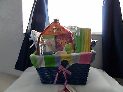 Baby Boy Baby Shower Gift Basket *Unique Items*