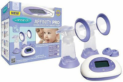 NEW Lansinoh Affinity Pro DOUBLE ELECTRIC BREAST PUMP Factory Sealed!