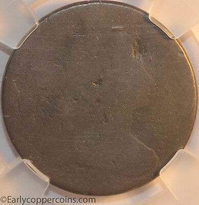 RARE KEY 1803 S264 R4+ Draped Bust Large Cent NCS Fair Large Date Small Fraction
