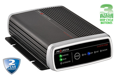New Projecta Idc25 12V Volt Dc/dc Dual Purpose Battery Charger Deep Cycle Agm