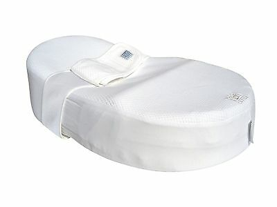 Red Castle Cocoonababy Sleep Positioner - White (Includes Extra Fitted Sheet)