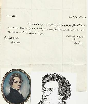 President Monroe Appointee Nicholas Biddle, Bank of the United States, Letter