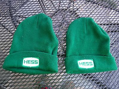 TWO mint Hess Gas Station Vintage Employee Hats-NEVER USED-PERFECT SHAPE.