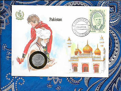 E Coins of All Nations Pakistan 1989 10 Paisa UNC