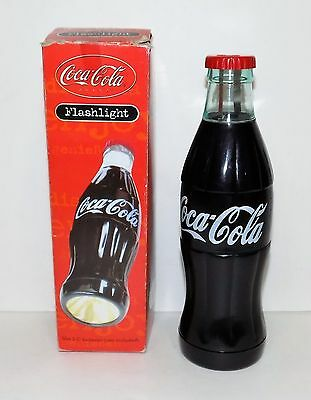 Vintage Coca Cola Flashlight with Original Box