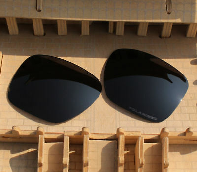 BVANQ Polarized Lenses Replacement for-Oakley Sliver XL OO9341 - Stealth Black