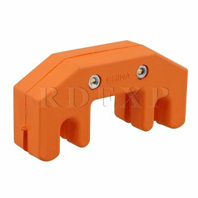 Orange 4 Claw Rubber Practice Mute Silencer for Cello Musical Instrument