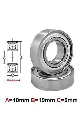 AT Bearing 10x19x5mm MS chrome steel Metal shielded (6800zz)