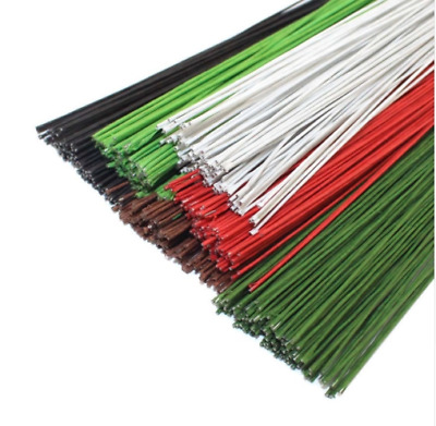 50PCS #26 Paper Covered Wire DIY Nylon Stocking Flower Making