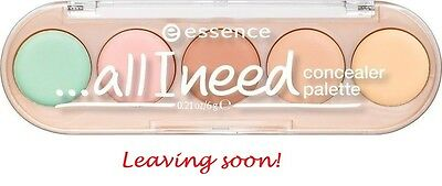 ESSENCE all i need concealer palette (10  cover it all) NEU&OVP