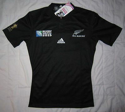 ALL BLACKS Rugby World Cup 2015 Jersey (Small) – BNWT RRP $150 SALE