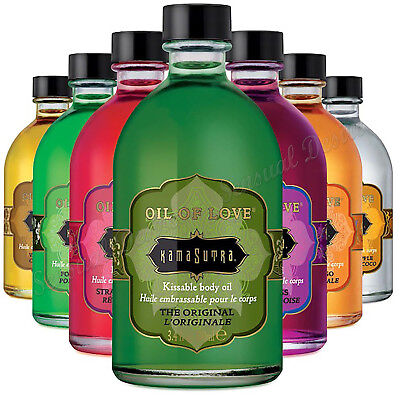 Kama Sutra Oil Of Love Collection Sensual Desire Flavoured Water Based Oil