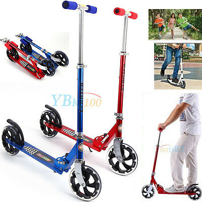 Pro Sports Adult Stunt Trick Push Scooter w/ Fixed Bar 360 Degree Outdoor/Indoor