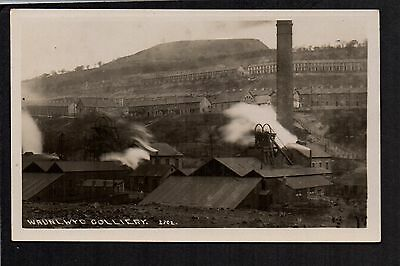 Waunlwyd Colliery - real photographic postcard