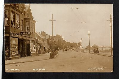 "Rhos on Sea - The Parade - real photographic postcard in ""Neils"" series"