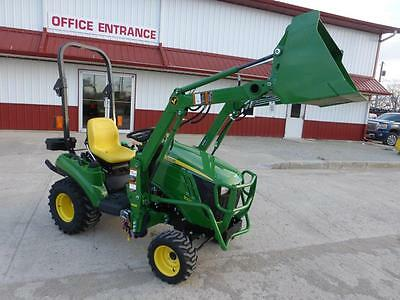 2016 John Deere 1023E Mfwd Compact Tractor With Loader 1 Hour Hydro Transmission
