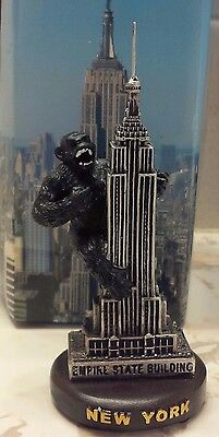 New York Empire State Building With King Kong 5 Inches