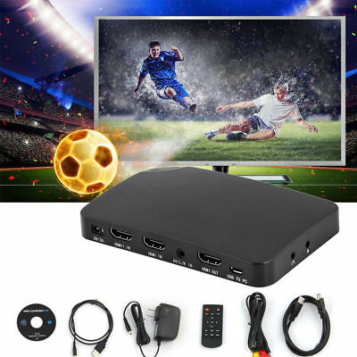 YK940 1080P UHD HDMI Game Video Capture Box Recorder Decode For XBOX 360 DVD