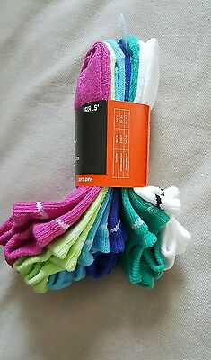 NIKE Performance Cotton lightweight no show socks size 5Y-7Y 6 pack