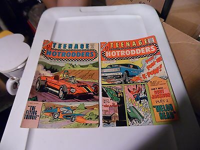 Teenage Hotrodders lot of 2 books #23 and #24