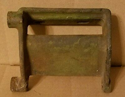 John Deere model H generator bracket and seat base