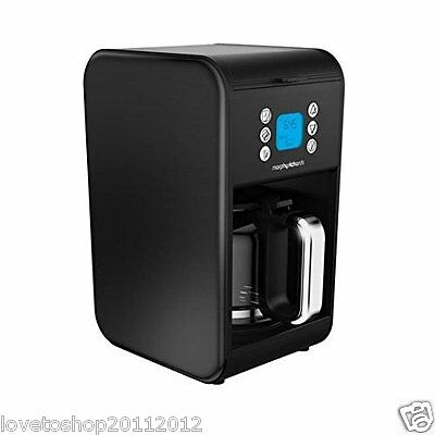 Morphy Richards Accents Pour Over Filter 1.8 L Coffee Machine Black 162008