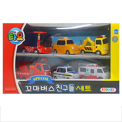 TAYO the Little Bus Special Friends Mini 6 Cars A Set Toy Character Kids Gift